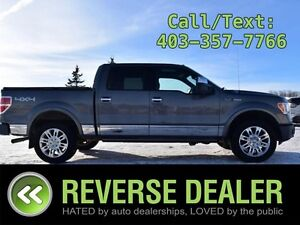 2009 Ford F-150   Platinum Baby! Navi, Sunroof, Heated  A/C Leat