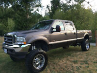 REDUCED!!!! LIFTED F350 17500 OBO, NEED SMALLER VEHICLE,LOW KM