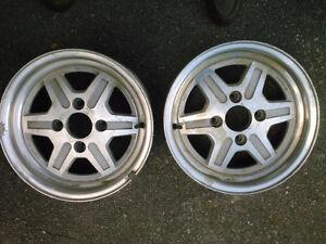 2 Aluminum Rims