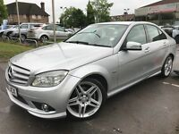 Mercedes C Class C 250 CDI BLUEEFFICIENCY SPORT (silver) 2009