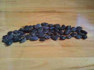 Lot of assorted decorative black stones As shown in the pictures London Ontario image 4