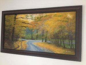 Framed picture in perfect condition London Ontario image 1