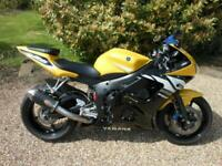 YAMAHA YZF-R6 SUPERSPORT LIMITED EDITION, 2003, 9,896 MILES, TWO OWNERS FROM NEW