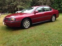 2005 Chevrolet Impala with New inspection and reg