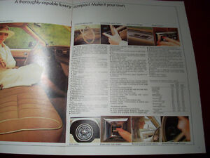 1977 Concours (nova) sales brochure Peterborough Peterborough Area image 4