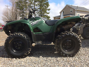 2014 YAMAHA 550 GRIZZLY WITH EPS....FINANCING AVAILABLE