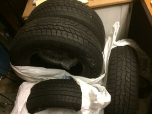 SOLD! 215/70R16 winter tires
