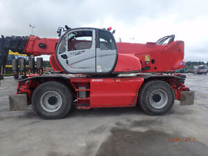 Rotating Telehandler 11,000 LBS Lift 98.5' Reach - Reconditioned