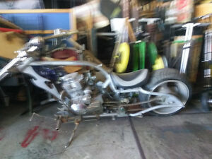Custom made chopper