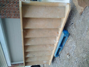 Pre-built stairs