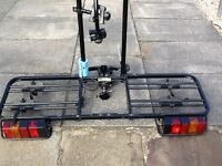 Thule towball mounted 2 bike carrier