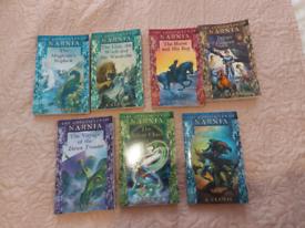 7 x The chronicles of nania books