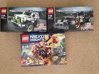 Lego technic and nexo knights