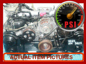 JDM SUBARU WRX EJ205 TURBO DOHC AVCS ENGINE 2002-2005.