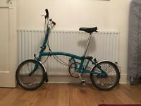 Brompton folding bike / bicycle