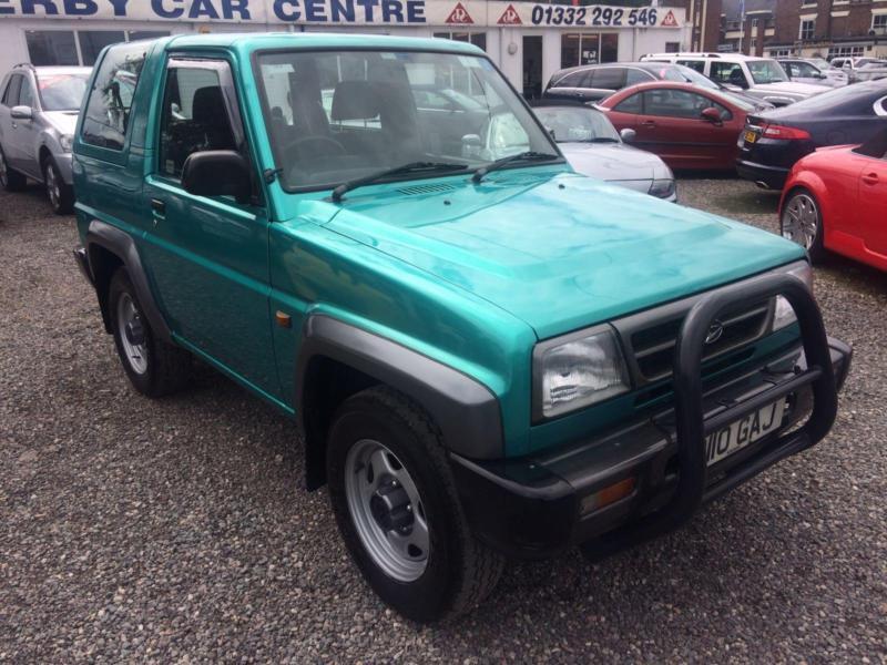 1997 Daihatsu Sportrak 1 6 Xi Se 4 X 4 Midori Rare Low border=