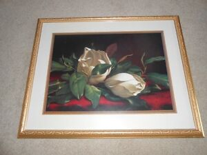 Magnolias Framed Picture