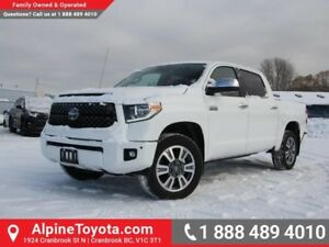 2018 Toyota Tundra Platinum  4x4 - Sunroof - Heated Seats