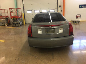 2006 Cadillac CTS leather seats