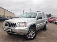 Jeep Grand Cherokee 2.7 CRD OVERLAND (silver) 2003