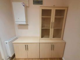 Beech Colour Corner Desk/Home Office Furniture