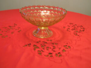 collectable stemmed serving bowl