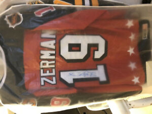 Autographed Cambell conference YZERMAN Jersey