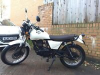 125cc Sinnis track star flat tracker cafe racer low miles