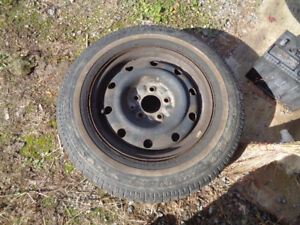Tires and rims 15 inch for Dodge Caravan (2005)