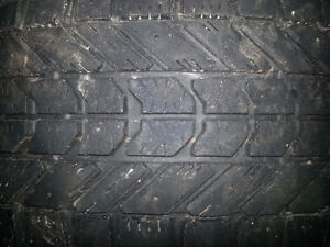 4 high like new end winter tires