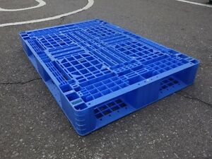 Pallets/Skids, Plastic, forklift friendly for storage and moving