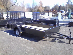 Spring Sale 80 or 72 x 12 3000lb Utility Trailer