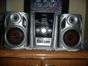 PANASONIC 5 DISC STEREO SYSTEM