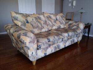 Sofa à deux grandes places