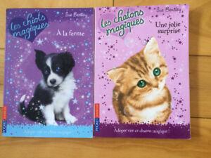 Livres LES CHIOTS MAGIQUES et LES CHATONS MAGIQUES