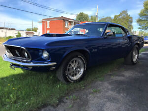 1969 Mustang Fastback   - 4 speed manual-