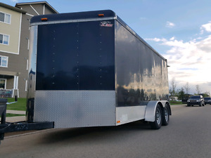7x14 with additional V-Nose Enclosed Cargo Trailer