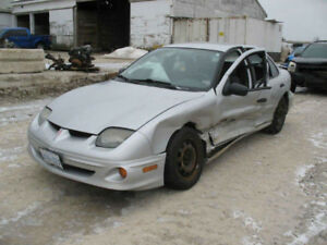 LAST CHANCE PARTS 2001 PONTIAC SUNFIRE@ PICNSAVE WOODSTOCK