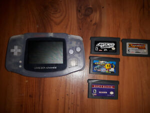 GBA + 4 games 45 $