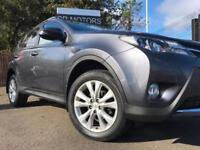 2013 Toyota RAV4 2.2D-4D ( 150bhp ) ( AWD ) Invincible(TOP SPEC,IMMACULATE)