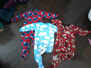 Boys fleece  sleepers
