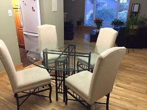 Table and chairs-excellent quality and condition