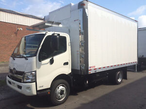 New 2017 Hino 195 with 16' Reefer Body