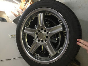 Wheel and tires off 2005 Honda accord