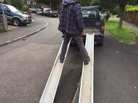 Pair of good quality 8ft loading ramps. Car trailer , load, plant , quad moto-x alumminium