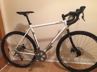 Genesis croix de fer 20, large 56cm, 2015. Road, gravel, cyclocross bike.