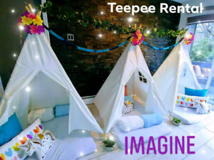 ⛺Teepee kids Parties⛺Fête d'enfant⛺Sleepover⛺Pinic Party⛺PjParty
