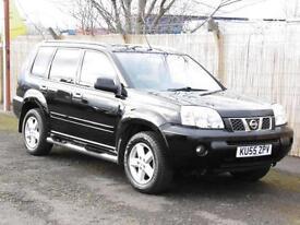 Nissan X-Trail 2.2dCi 2005 SVE, Black,88 000 Miles, FSH, 6 Months AA Warranty