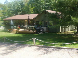 FRENCH RIVER LEVEL ENTRY WATERFRONT LOT