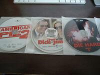 AUBAINE.......338 DVD.......... (COMME NEUF) TOUTE $ 150.00